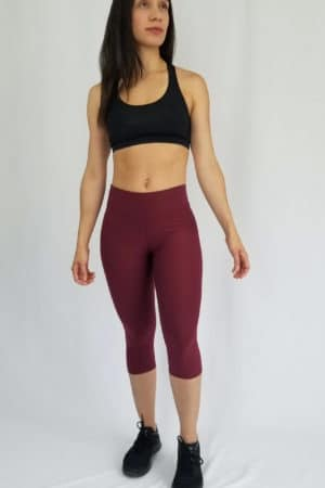 Cropped-Leggings-Burgundy_photo2