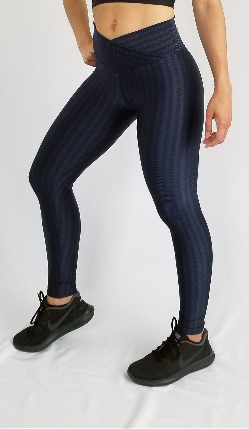 Metallic_Leggings_Navy_Blue_photo1