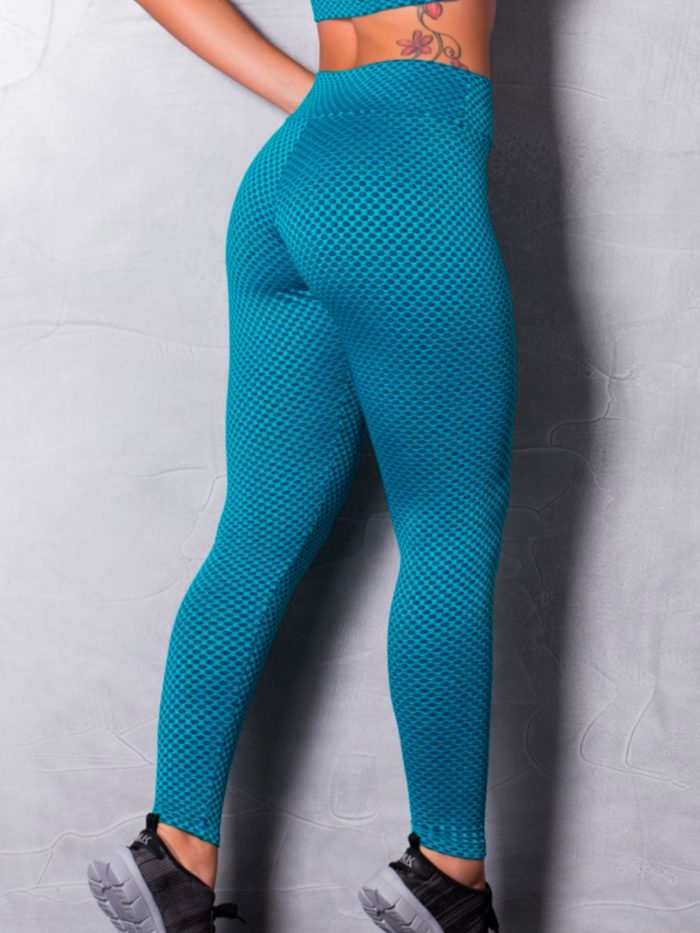Textured-Leggings-Green