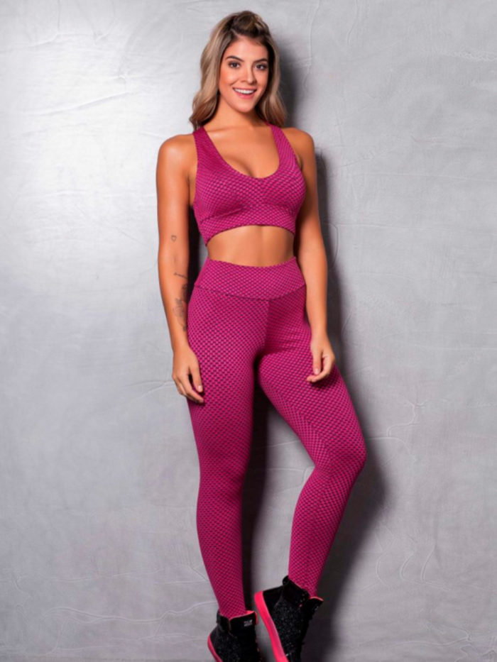 Textured-Leggings-Pink