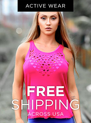 Active Wear, Free shipping - across USA